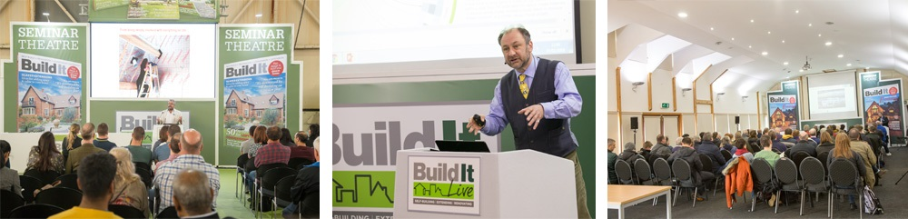 seminars and workshops at build it live south east